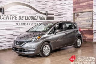 Used 2017 Nissan Versa Note SV+GR ELECTRIQUE+AIR+SIEGE/CHAUF+CAM/RECUL for sale in Laval, QC