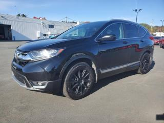 Used 2017 Honda CR-V TOURING, CUIR, TOIT, 8 ROUES for sale in Vallée-Jonction, QC