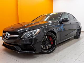 Used 2017 Mercedes-Benz C-Class AMG AMG C63 S TOIT PANO CUIR AFFALTERBACH *V8 BITURBO* for sale in St-Jérôme, QC