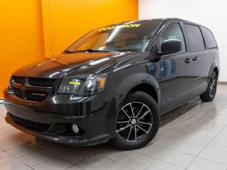 Used 2017 Dodge Grand Caravan BLACKTOP *DVD* STOW'N'GO* CAMERA *BLUETOOTH* PROMO for sale in St-Jérôme, QC