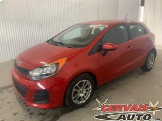 Used 2016 Kia Rio Mags A/C Bluetooth for sale in Shawinigan, QC