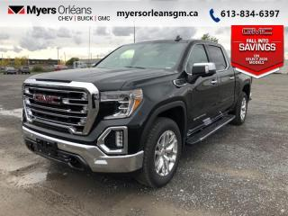 New 2020 GMC Sierra 1500 SLT  - Leather Seats - Sunroof for sale in Orleans, ON