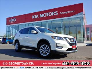 Used 2019 Nissan Rogue SV | AWD | CLEAN CARFAX | ROOF | B/U CAM | 23K KMS for sale in Georgetown, ON