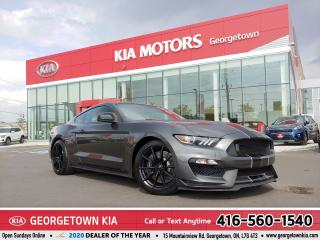 Used 2017 Ford Mustang Shelby GT350 | 18,626KMS | 6SPD M/T | NAV | BU CAM for sale in Georgetown, ON
