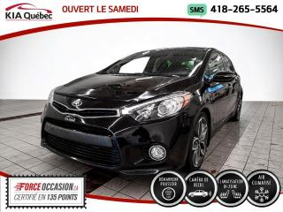 Used 2015 Kia Forte SX* TURBO* 5 PORTES* CAMERA* SIEGES CHAU for sale in Québec, QC