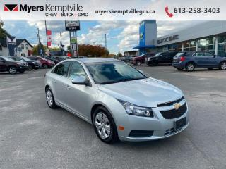Used 2013 Chevrolet Cruze LT Turbo  - OnStar -  SiriusXM for sale in Kemptville, ON