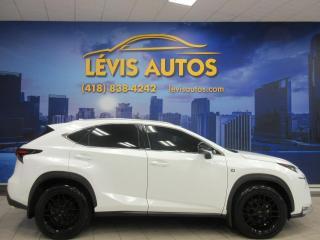 Used 2016 Lexus NX 200t F-SPORT AWD CUIR TOIT OUVRANT 63000KM JA for sale in Lévis, QC