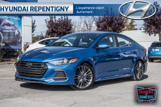Used 2017 Hyundai Elantra SPORT 4 PORTES*A/C, CUIR, TOIT OUVRANT, MAGS 18''* for sale in Repentigny, QC