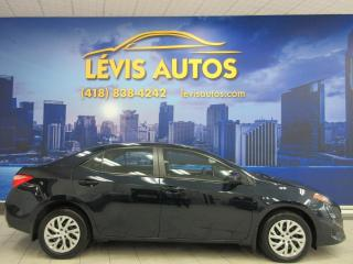 Used 2017 Toyota Corolla LE AUTOMATIQUE 62200 CAMERA DE RECUL BLU for sale in Lévis, QC