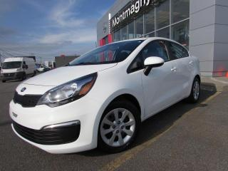 Used 2016 Kia Rio Berline 4 portes, boîte manuelle, LX for sale in Montmagny, QC