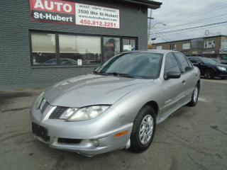 Used 2005 Pontiac Sunfire for sale in St-Hubert, QC