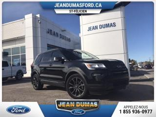 Used 2018 Ford Explorer MODÈLE XLT, 7 PASSAGERS GPS SIÈGE CHAUFF for sale in Roberval, QC