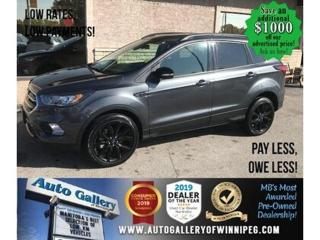 Used 2019 Ford Escape Titanium* 4WD/Navi/Htd seats for sale in Winnipeg, MB