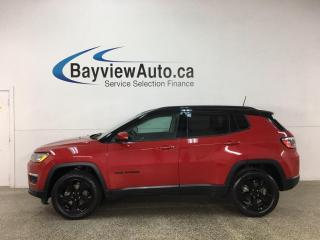 Used 2018 Jeep Compass North - 4X4! 1/2 LEATHER! REVERSE CAM! ALLOYS! + MORE! for sale in Belleville, ON