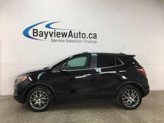 Used 2019 Buick Encore Sport Touring - AWD! 1/2 LEATHER! SUNROOF! ONLY 15,000KMS! + MORE! for sale in Belleville, ON