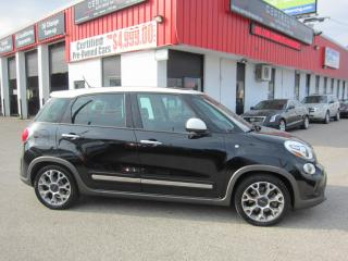 Used 2014 Fiat 500 L TREKKING $7,995+HST+LIC FEE / CLEAN CARFAX / CERTIFIED for sale in North York, ON