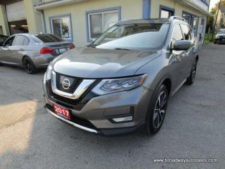 Used 2017 Nissan Rogue ALL-WHEEL DRIVE SL EDITION 5 PASSENGER 2.5L - DOHC.. NAVIGATION.. PANORAMIC SUNROOF.. LEATHER.. HEATED SEATS.. BACK-UP CAMERA.. BLUETOOTH SYSTEM.. for sale in Bradford, ON