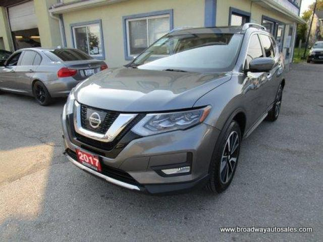 2017 Nissan Rogue ALL-WHEEL DRIVE SL EDITION 5 PASSENGER 2.5L - DOHC.. NAVIGATION.. PANORAMIC SUNROOF.. LEATHER.. HEATED SEATS.. BACK-UP CAMERA.. BLUETOOTH SYSTEM..