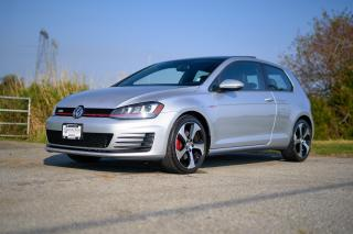 Used 2016 Volkswagen Golf GTI 3-Door Autobahn *LEATHER* *SUNROOF* MANUAL SHIFT* KEYLESS ENTRY* for sale in Surrey, BC