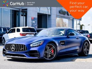 Used 2020 Mercedes-Benz AMG GT C Coupe AMG 550hp! Burmester Navigation Sunroof for sale in Thornhill, ON