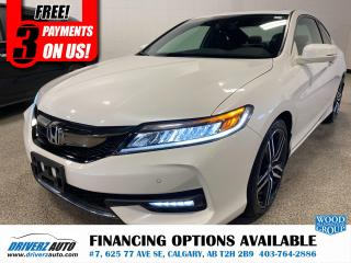 Used 2016 Honda Accord Touring ADAPTIVE CRUISE, LANE KEEPING ,AND LOTS MORE.. for sale in Calgary, AB