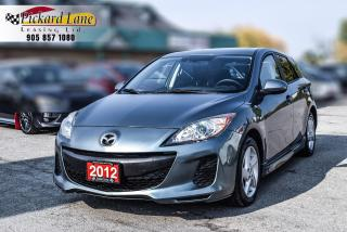 Used 2012 Mazda MAZDA3 GS-SKY CERTIFIED! | SUNROOF!| HEATED SEATS! for sale in Bolton, ON