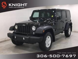 Used 2014 Jeep Wrangler UNLIMITED SPORT for sale in Regina, SK