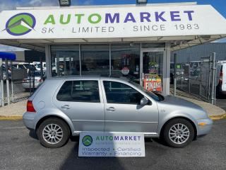 Used 2007 Volkswagen City Golf IN HOUSE FINANCE! NO CREDIT REQ. FREE BCAA MBRSHP. & WRNTY for sale in Langley, BC