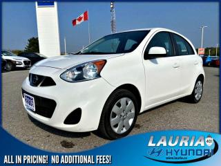 Used 2016 Nissan Micra SV Auto for sale in Port Hope, ON