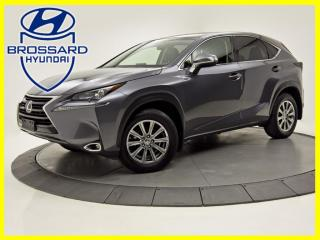 Used 2017 Lexus NX 200t AWD CUIR CAMERA DE RECUL BLUETOOTH for sale in Brossard, QC