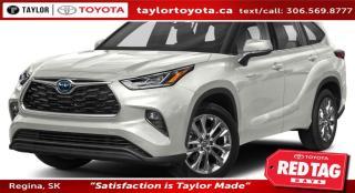 New 2020 Toyota Highlander Hybrid Limited for sale in Regina, SK