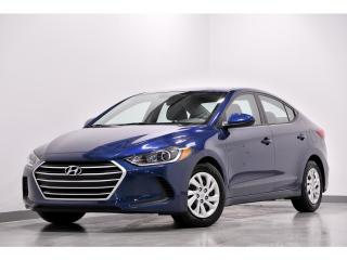 Used 2017 Hyundai Elantra 4DR SDN AUTO LE for sale in Brossard, QC