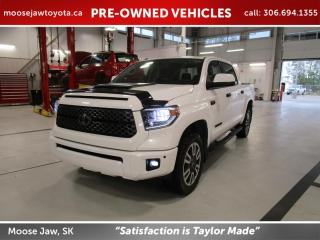 Used 2018 Toyota Tundra SR5 Plus 5.7L V8 TRD Sport Package for sale in Moose Jaw, SK