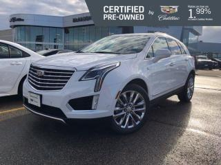 Used 2017 Cadillac XT5 Platinum AWD | Suede Headliner | Cooled Seats for sale in Winnipeg, MB
