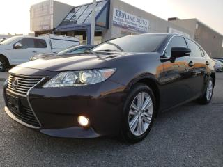 Used 2013 Lexus ES 350 NAVIGATION|CAMERA|NO ACCIDENT|CERTIFIED for sale in Concord, ON
