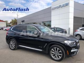 Used 2018 BMW X3 30i xDrive *Paddle-Shift *Toit-Ouvrant/Sunroof for sale in St-Hubert, QC