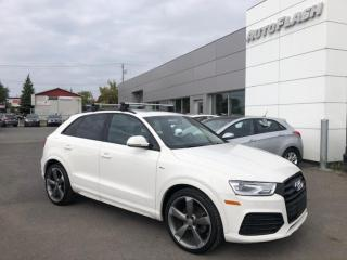 Used 2017 Audi Q3 2.0T Progressiv S-Line Quattro *Toit-Pano-Roof for sale in St-Hubert, QC