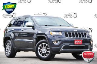 Used 2015 Jeep Grand Cherokee Limited LIMITED | 4WD | 3.6L V6 | LEATHER INTERIOR for sale in Kitchener, ON