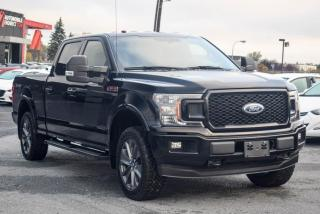 Used 2018 Ford F-150 SPORT PACK 4X4 CREW CAB MAGS 20P CAMERA for sale in St-Hubert, QC