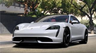 New 2020 Porsche Taycan TURBO for sale in Langley City, BC