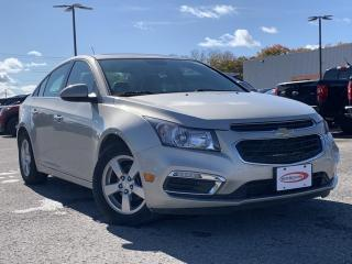 Used 2016 Chevrolet Cruze Limited 2LT LEATHER HEATED SEATS, REVERSE CAMERA for sale in Midland, ON