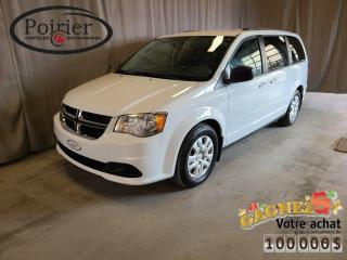 Used 2014 Dodge Grand Caravan SXT Véhicule Familliale for sale in Rouyn-Noranda, QC