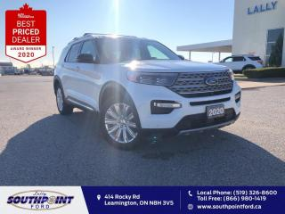 Used 2020 Ford Explorer Limited|Leather|HTD&Cooled seats|Navi|Sunroof|Remo for sale in Leamington, ON