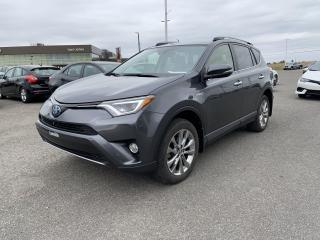 Used 2017 Toyota RAV4 Hybrid * LIMITED * HYBRIDE * CUIR * GPS * TOIT * 65 000 K for sale in Mirabel, QC