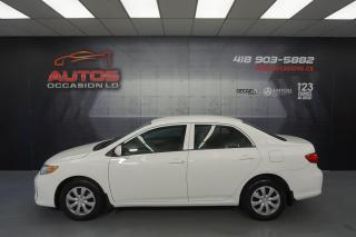 Used 2012 Toyota Corolla CE AUTOMATIQUE AIR CLIMATISÉ BLUETOOTH 149 012 KM for sale in Lévis, QC