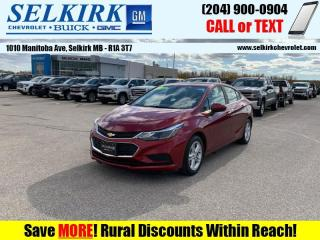 Used 2018 Chevrolet Cruze True North Edition  *SUNROOF* for sale in Selkirk, MB