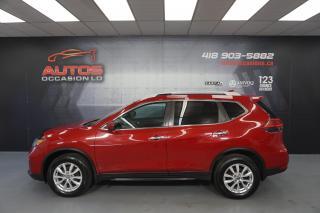 Used 2017 Nissan Rogue AWD SV AUTO TOIT PANO CAMERA BLUETOOTH 59 204 KM for sale in Lévis, QC