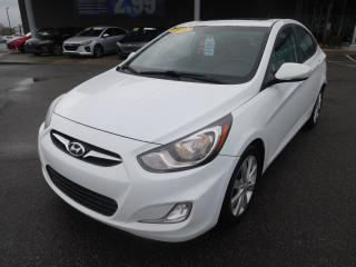 Used 2014 Hyundai Accent AUTO,GLS,A/C,TOIT,BANCS CHAUFF, BLUETOOTH,CRUISE for sale in Mirabel, QC