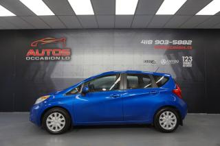 Used 2014 Nissan Versa Note SV 1.6 AUTO A/C CAMERA BLUETOOTH 115 786 KM !! for sale in Lévis, QC