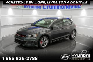 Used 2018 Volkswagen Golf GTI GARANTIE + CAMERA + DSG + CARPLAY + WOW for sale in Drummondville, QC